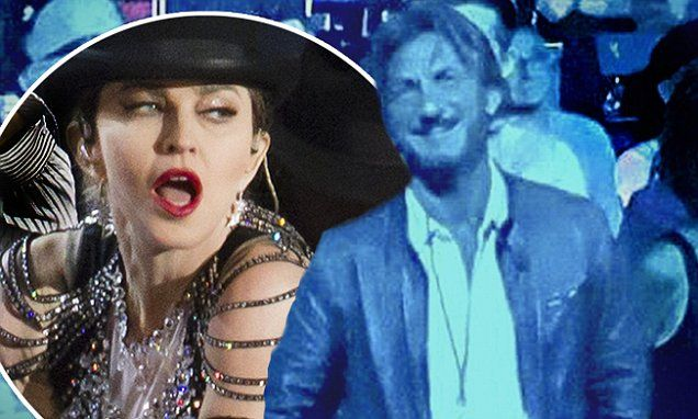 Sean Penn catches night two of ex Madonna's Rebel Heart Tour at MSG
