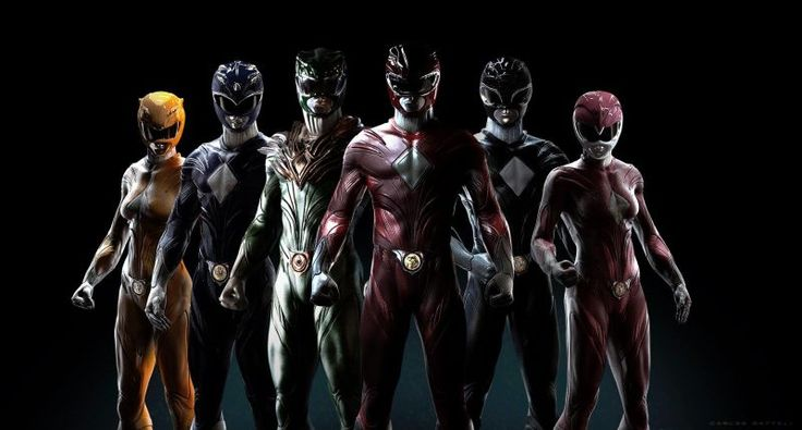 If Only These Had Been the Power Rangers Movie Suits