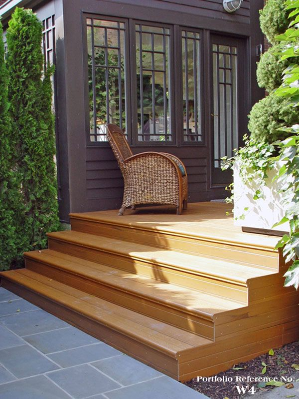 17 best images about porch step ideas on pinterest cap d for Deck stairs pictures