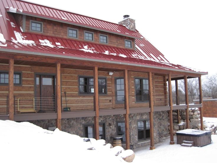 62 best images about everlog concrete log homes on for Log cabins in yellowstone national park