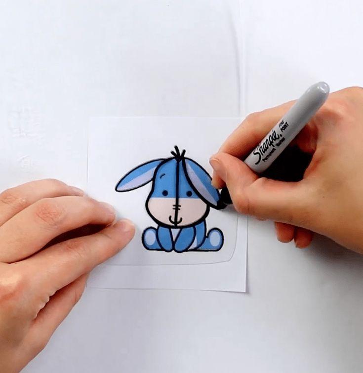 Картинки простые маркером