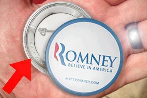Mitt Romney Made in China