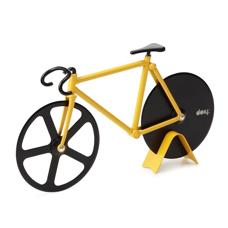 FIXIE PIZZA CUTTER | pizza slicer, bicycle | UncommonGoods/ cortador de pizza, I want it!!