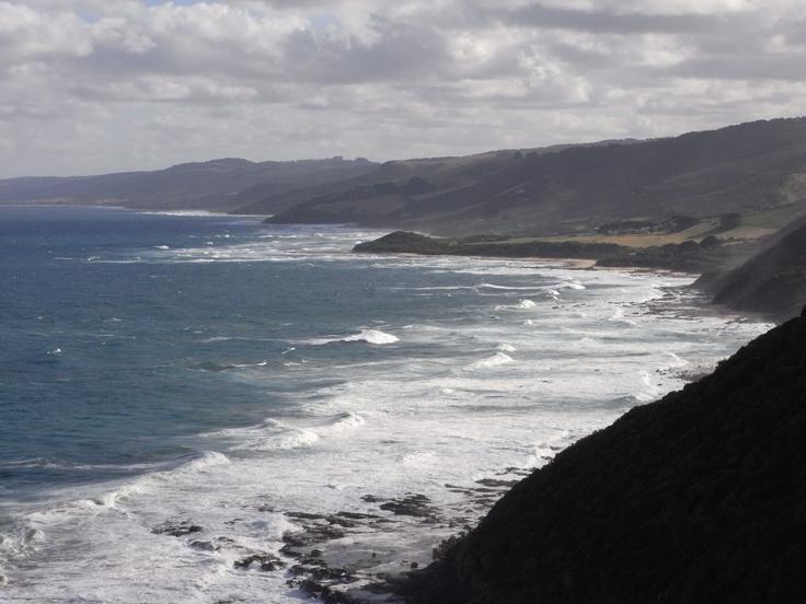 From Cape Patton Lookout, near Apollo Bay