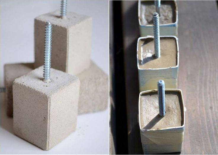 253 best concrete ideas plaster images on pinterest cement 34 cool and modern diy concrete projects concrete drawer pulls solutioingenieria Gallery