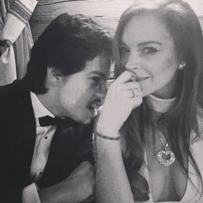 Buzzing: 'It's Not the First Time': Lindsay Lohan Claims Her Fiancé Has Been Abusive in the Past and Hints Relationship Is Over
