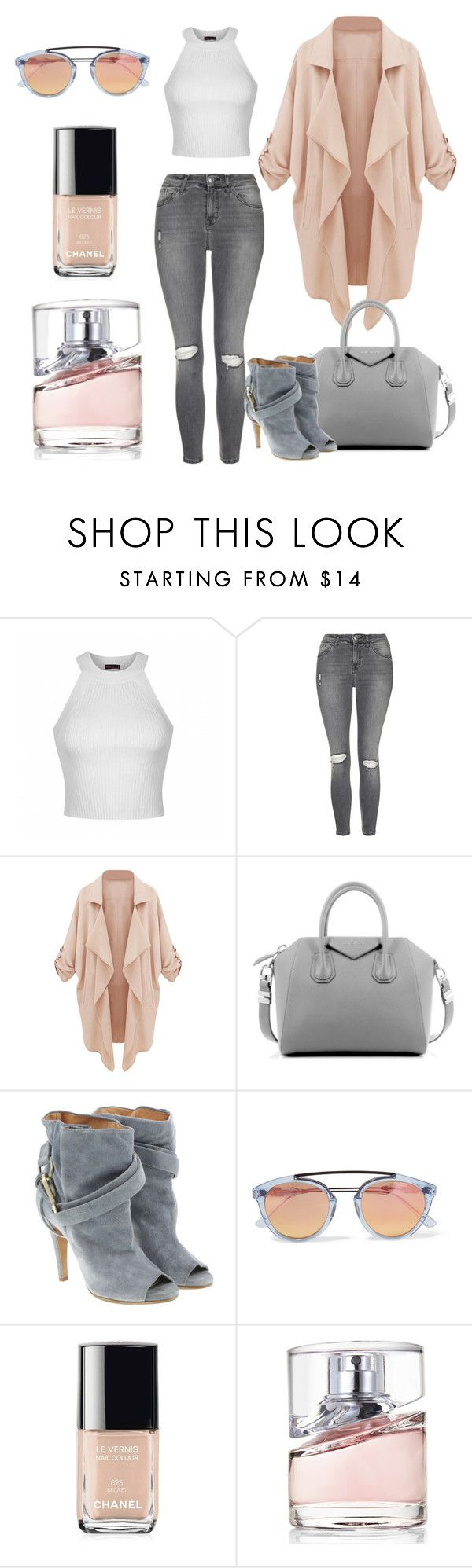 """""""Untitled #6"""" by sylver-fang on Polyvore featuring Ally Fashion, Topshop, Givenchy, Maison Margiela, Westward Leaning, Chanel, BOSS Hugo Boss, women's clothing, women and female"""