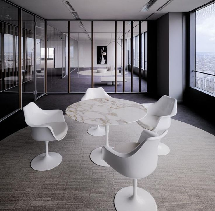 Tables Knoll TABLE TULIPE SAARINEN : Arrivetz, Tables Design Par Eero  Saarinen