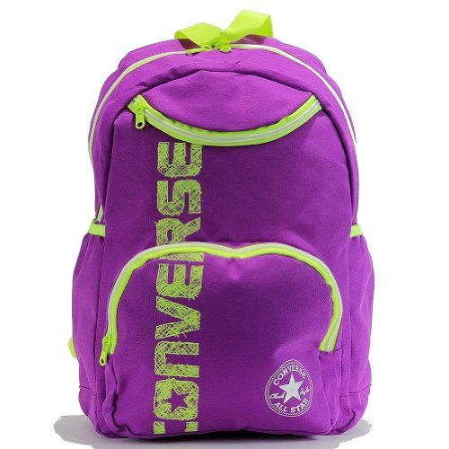 converse backpack purple