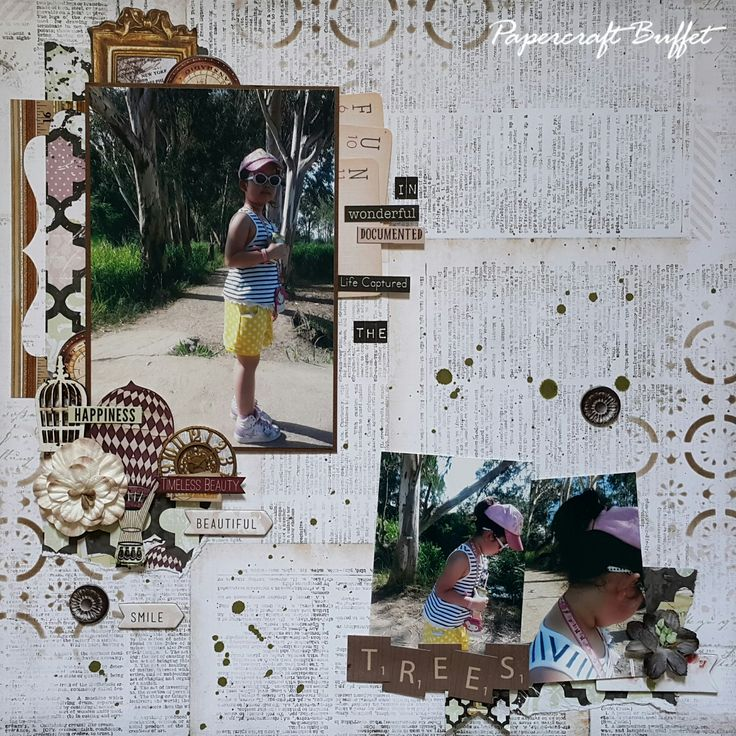 """I added """"BoBunny March Sketch Challenge 