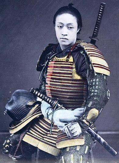 Samurai by Shinichi Suzuki (Japanese, 1835–1919) / #MIZUworld