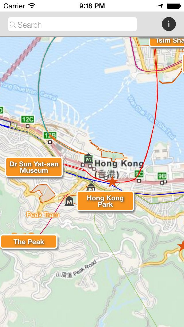 Techkinesis Inc | Travel | iPhone | Hong Kong Tourist Map $0.00 | ver.1.0.1| $0.00 | This is a simple map that highlights the most popular destinations for your visit to Hong Kong. Zoom out of the map to see the locations of the ...