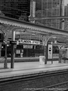 Melbourne City, Photography, flinders street station, Victoria, Australia, black and white  More information and pictures at: http://straightondetour.com/images-of-melbourne-city/