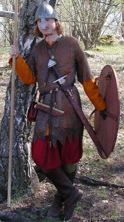 Historiska Världar - Dräkter - Vikingatida krigare - Byxor