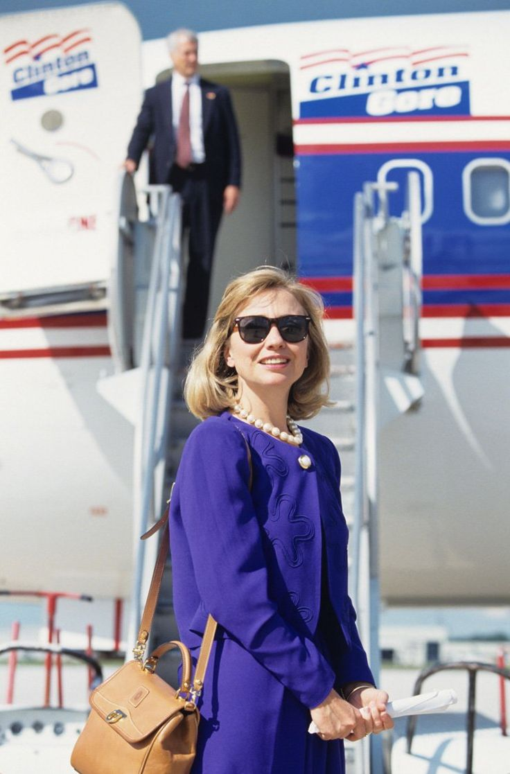 1992 photo of Hillary Clinton                                                                                                                                                                                 More