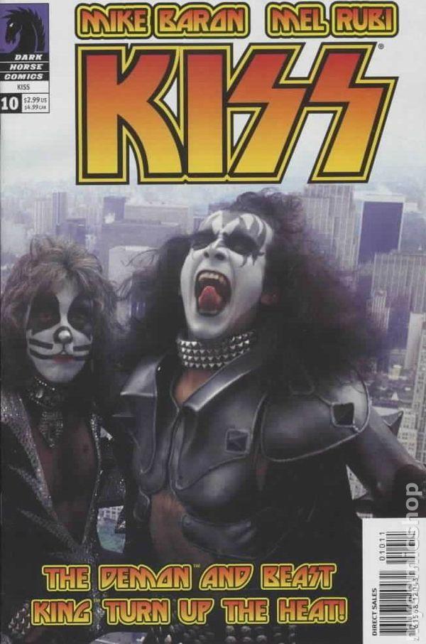 KISS (2002) Photo Cover 10 Darkhorse comics cover