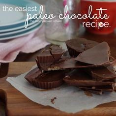 The Easiest Way To Make The Best Paleo Chocolate. We share our secret recipe that is a paleo chocolate success each and every time! No double boiler needed!