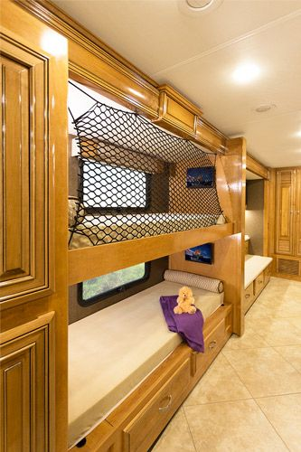 Luxury RV With a Bunkhouse