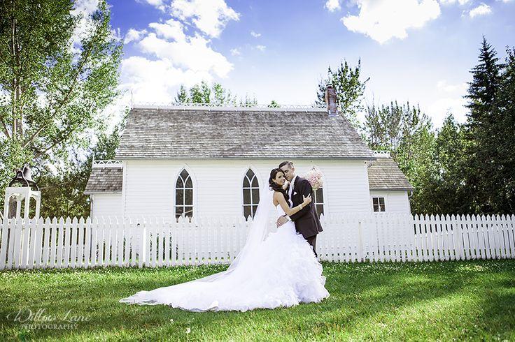 Little White Church Wedding Summer Wedding Photos Barrie  Wedding Photographer | Willow Lane Photography   www.willowlanephotography.ca     Fort Edmonton Park Wedding