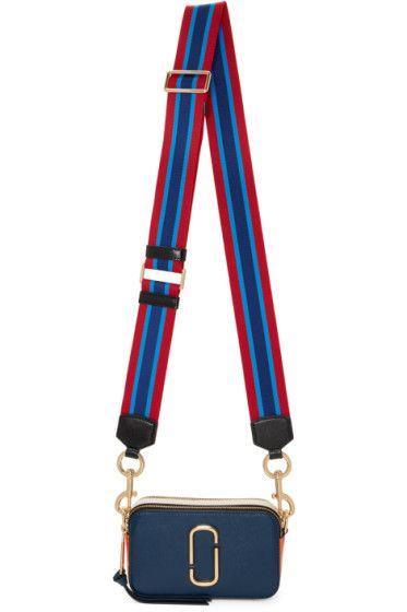 Marc Jacobs - Navy Small Snapshot Bag
