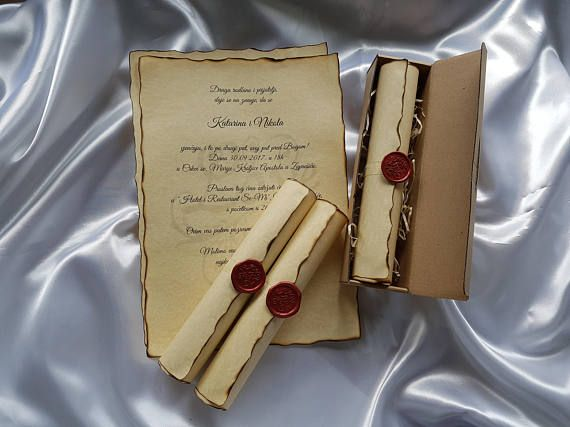 Seal And Send Wedding Invitations Diy: Best 25+ Scroll Invitation Ideas On Pinterest
