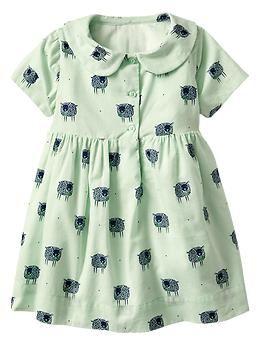 Sheep Peter Pan dress | Gap