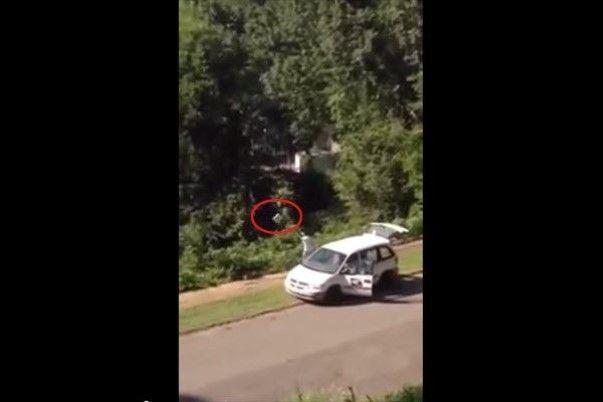 6 juillet 2014 -  A Birmingham (Alabama, Etats-Unis), ce livreur d'USPS au lieu de distribuer ses colis il les a tout simplement... jetés dans un ravin, ni vu ni connu. C'est du moins ce qu'il croyait... En effet, un voisin intrigué a filmé toute la scène et a mis en ligne la vidéo.  Etait-ce un dernier coup d'éclat avant de quitter son emploi ? Une habitude que le facteur avait prise ? L'homme n'a pas expliqué son geste mais il a par contre présenté sa démission dès le lendemain.