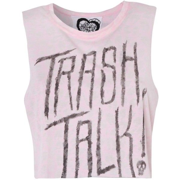 Glass Heart Trash Talk Vest (36 BRL) ❤ liked on Polyvore featuring tops, shirts, crop tops, tank tops, pink, leopard print shirt, leopard tank, leopard shirt and pink tank