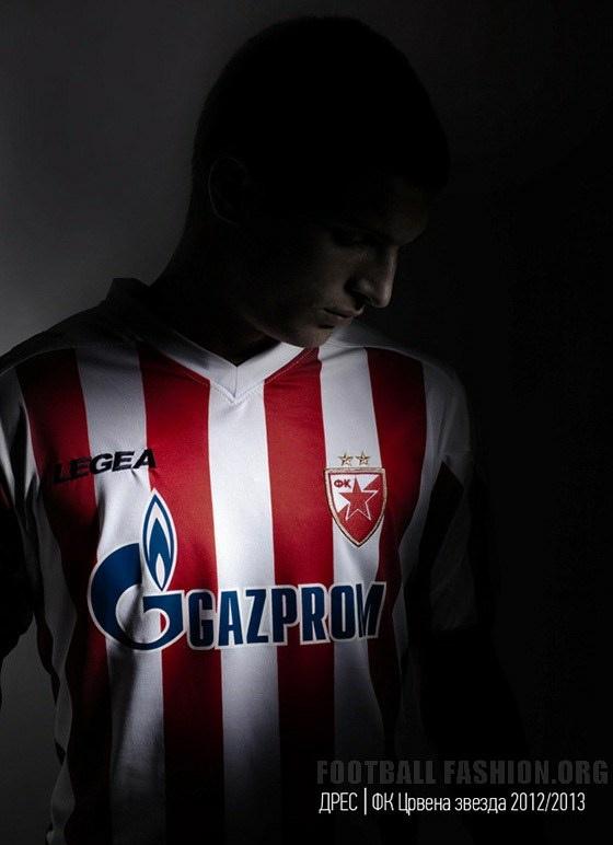 Red Star Belgrade Nike Legea 2012/13 Home Kit