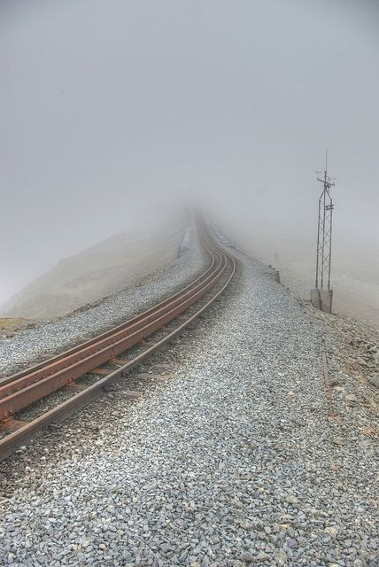 The Snowdonia Mountain Railway in Snowdonia National Park, Wales - by Joanne Simmons Photography, via Flickr