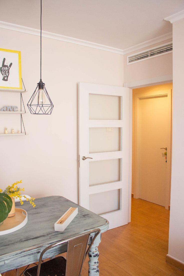 25 melhores ideias sobre pintar portas interiores no for Casas con puertas blancas