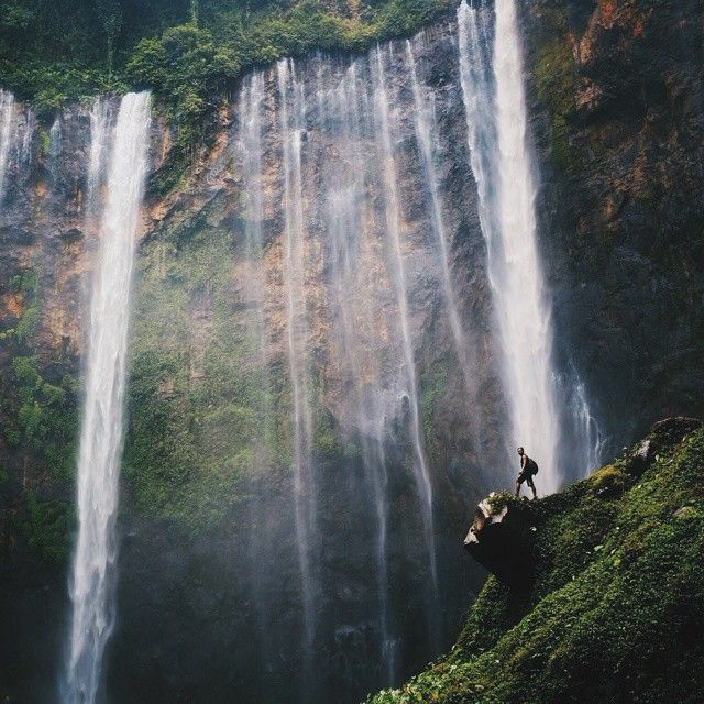 Coban Sewu Waterfall, Lumajang - Jawa Timur. Photo by @aditzt #livefolkindonesia #liveauthentic #explorelumajang #exploreindonesia