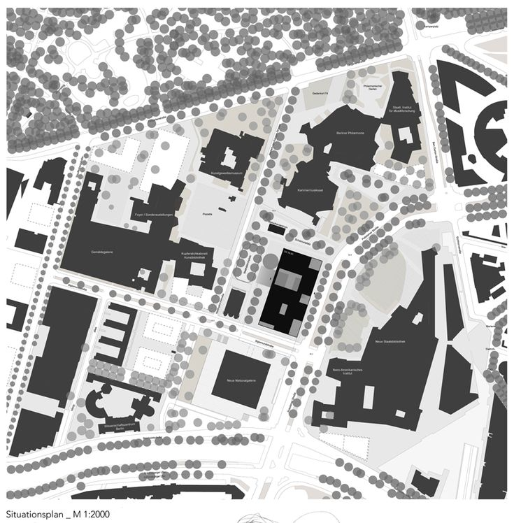 A museum for the 20th Century, Berlin A draftworks and dkwerkraum collaboration. Topographic Plan