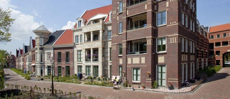 Aan het Snouck van Loosenpark in de binnenstad van Enkhuizen bouwde Scholtens Bouw het mooie project Paktuinen. Onder architectuur van TPAHG Architecten.