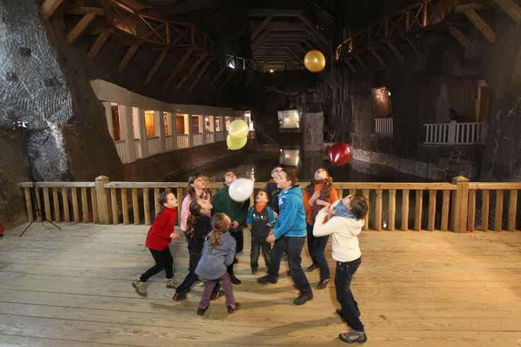 Children excercising at the Wessel Lake chamber