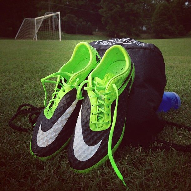 Lacing into new #soccer cleats this season?