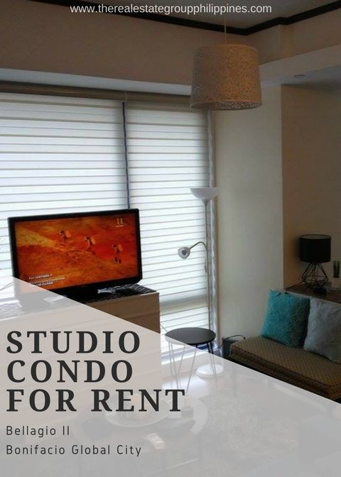 For Rent  Studio Condominium - Bellagio Two Fully Furnished 43sqm 45000/Month  http://ift.tt/2t4s5Kl