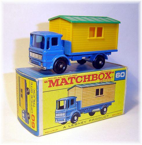 Matchbox 60b Site Hut Truck (1966)
