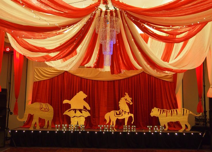 Under The Big Top Prom Vintage Circus Theme
