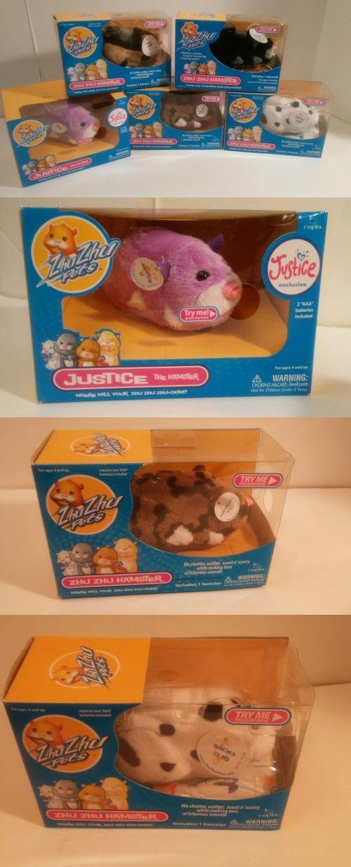 Zhu Zhu Pets 171529: Zhu Zhu Pets Lot Of 5 -Rocky- Moo- Tex- Cappuccino- Justice - New In Box! -> BUY IT NOW ONLY: $59.99 on eBay!