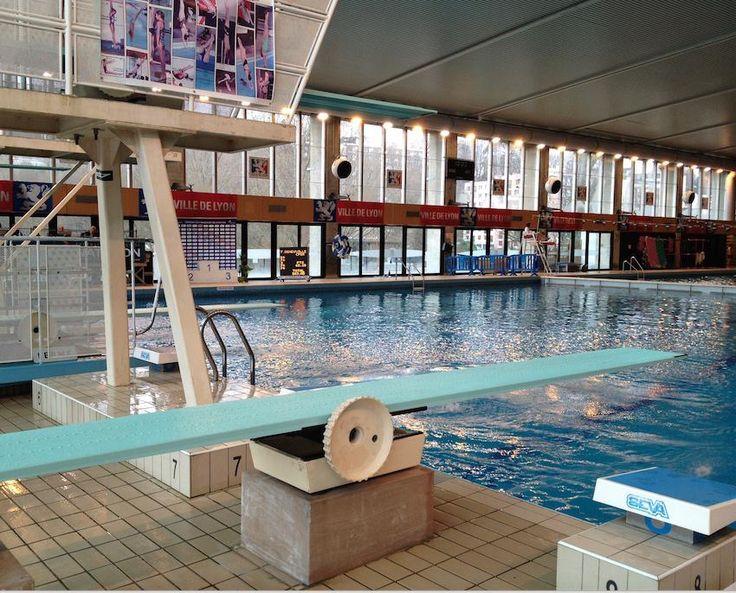 LYON (69 - Rhône, France) - Piscine de Vaise - Installations de plongeon (Photo prise le 16/02/2015 par Daniel C.,Officiel national de plongeon à la Fédération Française de Natation).