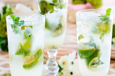 Chilled mojitos