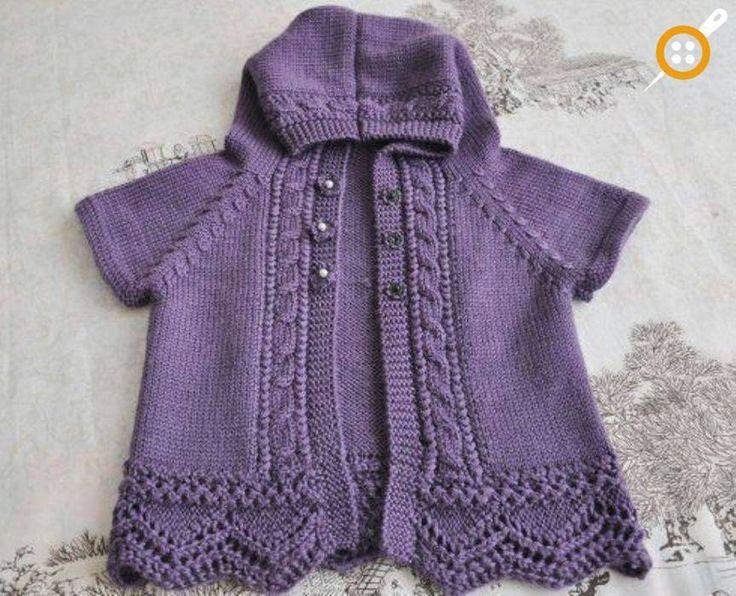 Kapşonlu Bebek Yelek Modelleri – 55 Adet Kapşonlu Bebek Yeleği