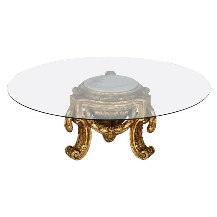 Louis Xvi Giltwood Jardinière Or Table