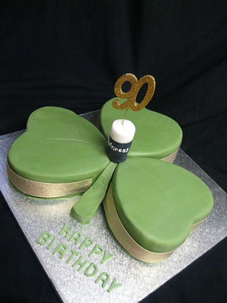 Irish Charm Irish Charm #st-patricks-day #shamrock #green #lucky #irish #paddy #stpaddys #leprechaun #pot-of-gold #cakecentral