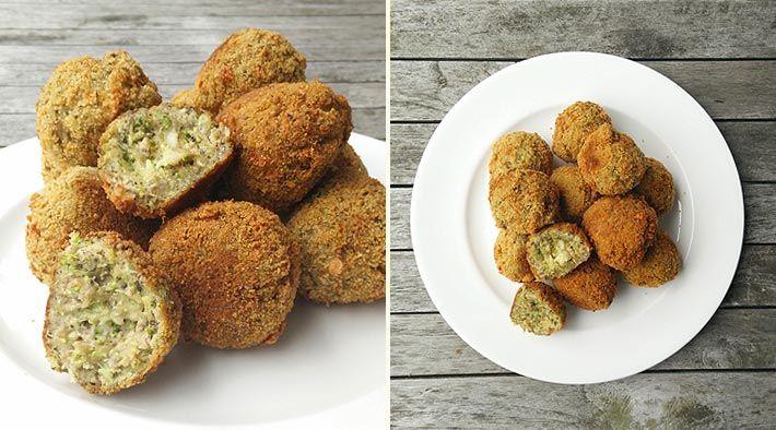 Low Carb Rezept für Low-Carb Brokkoli-Cheese-Bällchen. Wenig Kohlenhydrate und einfach zum Nachkochen. Super für Diät/zum Abnehmen.