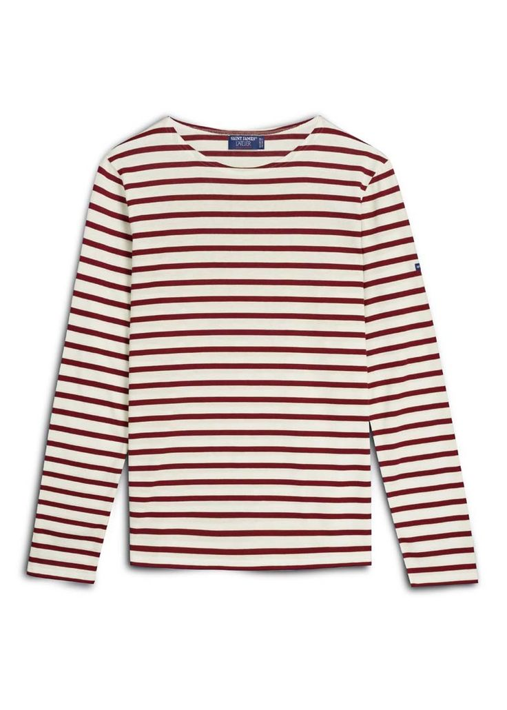 Breton Stripe Shirt | MINQUIERS MODERNE | Saint James® Official Site