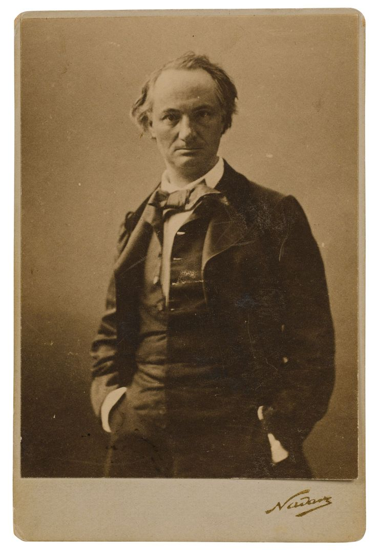 Charles Beaudelaire - 1855