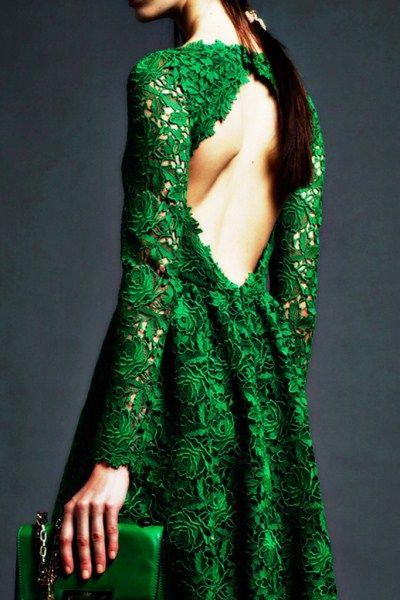 gorgeous emerald dress