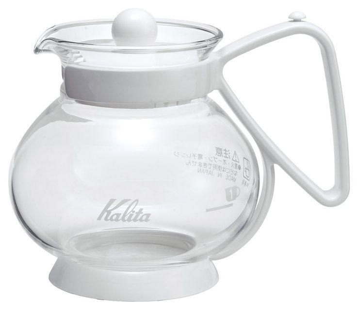 Amazon.co.jp : Kalita ティーバッグサーバーN 【電子レンジ用・1~2人用】 300ml ホワイト #31175 : ホーム&キッチン